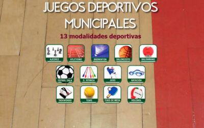 XXXVI JUEGOS DEPORTIVOS MUNICIPALES 2020-2021